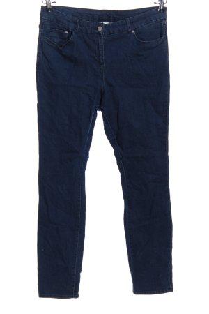 H&M Pantalón de cinco bolsillos azul look casual