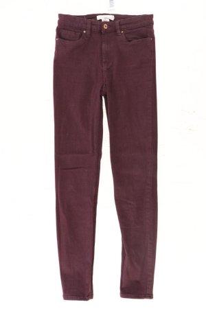 H&M Pantalon cinq poches violet-mauve-violet-violet foncé coton