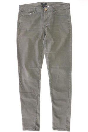 H&M Five-Pocket-Hose Größe 42 olivgrün aus Baumwolle