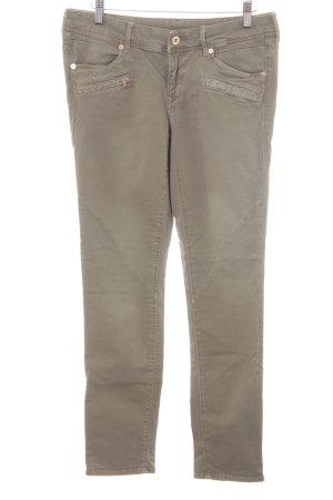 H&M Five-Pocket-Hose khaki Casual-Look