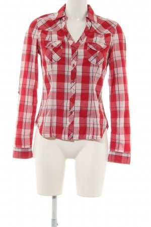 H&M Flanellhemd Allover-Druck Casual-Look