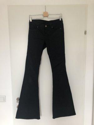 H&M Jeansy o kroju boot cut czarny