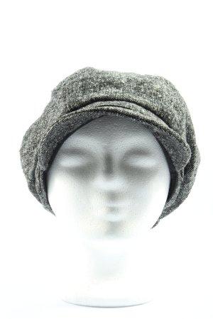 H&M Kaszkiet jasnoszary Melanżowy W stylu casual