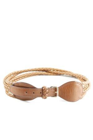 H&M Cintura intrecciata color carne stile casual