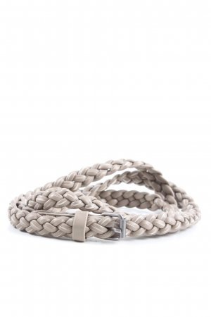 H&M Braided Belt light grey casual look