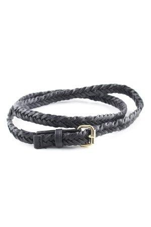 H&M Braided Belt black casual look