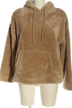 H&M Fleece Jackets brown casual look