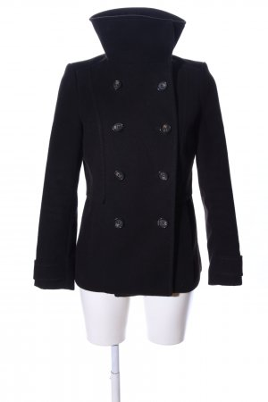 H&M Fleecejacke schwarz Business-Look