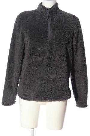 H&M Fleece Jackets light grey casual look