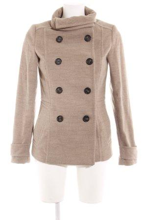 H&M Płaszcz polarowy beżowy-jasnobeżowy Gradient W stylu casual