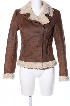 H&M Flight Jacket brown casual look