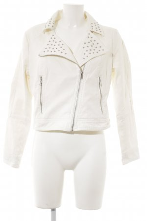 H&M Flight Jacket natural white casual look