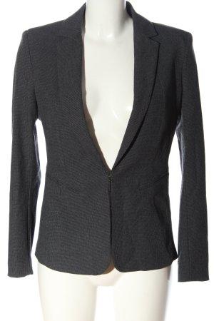 H&M Tailcoat light grey check pattern business style