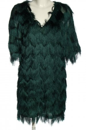 H&M Fringed Dress green elegant