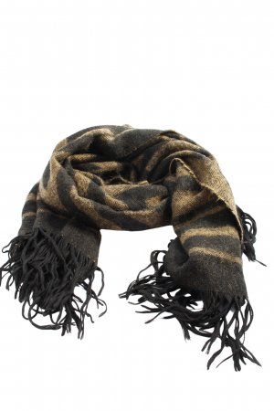 H&M Fringed Scarf natural white-brown casual look