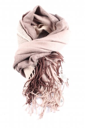 H&M Fringed Scarf pink-red casual look