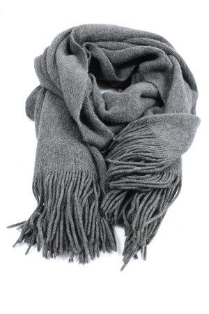 H&M Sciarpa con frange grigio chiaro puntinato stile casual