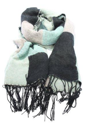 H&M Écharpe à franges motif rayé style décontracté