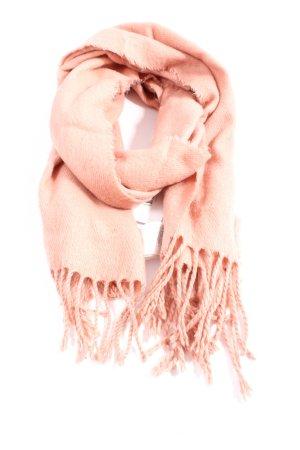 H&M Bufanda de flecos nude look casual