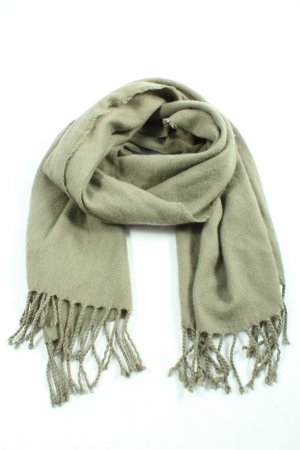 H&M Fringed Scarf khaki casual look