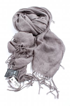 H&M Fringed Scarf light grey casual look