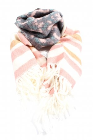 H&M Fringed Scarf striped pattern casual look