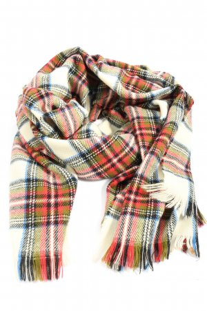 H&M Fringed Scarf allover print casual look