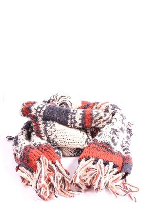 H&M Sjaal met franjes volledige print casual uitstraling