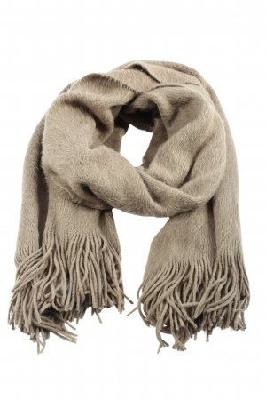 H&M Fringed Scarf natural white casual look