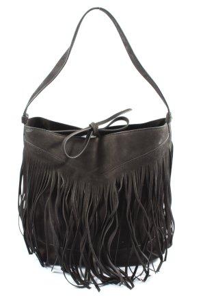 H&M Sac à franges brun style décontracté