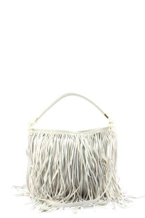 H&M Sac à franges blanc style décontracté