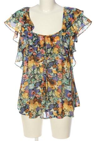H&M Garden Collection Kurzarm-Bluse