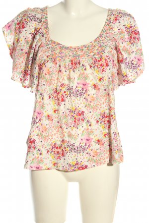 H&M Garden Collection U-Boot-Shirt Allover-Druck Casual-Look