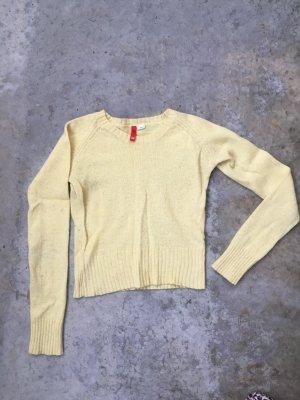 H&M gelber Pulli Gr 34/36