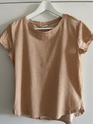 H&M gestreiftes Basic Shirt