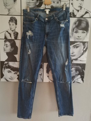 H&M Carrot Jeans multicolored