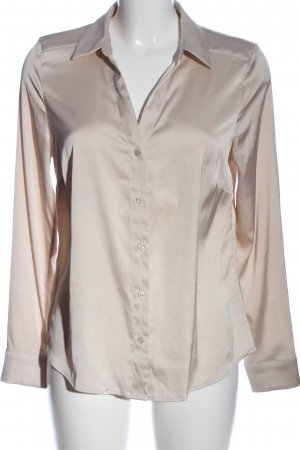 H&M Blusa brillante blanco puro estilo «business»