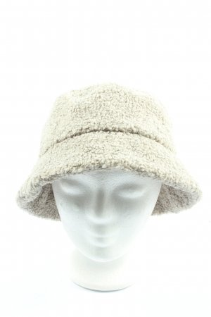 H&M Cloche Hat natural white casual look