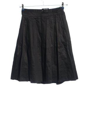 H&M Klokrok zwart zakelijke stijl