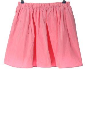 H&M Rozkloszowana spódnica różowy W stylu casual