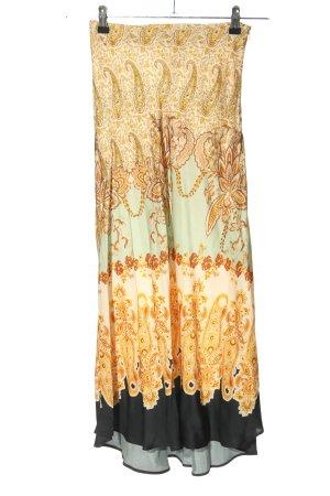 H&M Maxirock abstraktes Muster Elegant