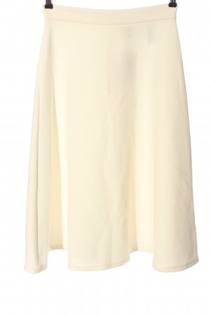 H&M Flared Skirt cream casual look