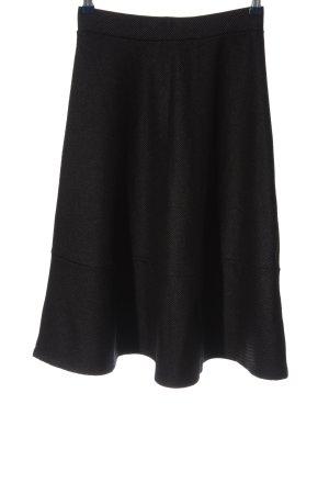 H&M Falda acampanada negro look casual