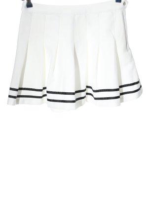 H&M Jupe évasée blanc style décontracté