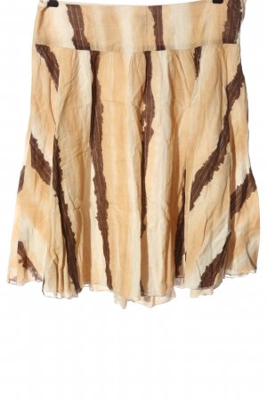 H&M Flared Skirt striped pattern casual look
