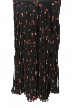 H&M Flared Skirt flower pattern casual look