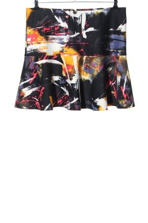 H&M Glockenrock abstraktes Muster Casual-Look