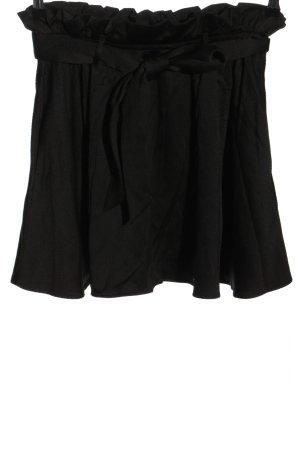H&M Rozkloszowana spódnica czarny W stylu casual