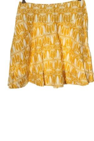 H&M Rozkloszowana spódnica jasny pomarańczowy-w kolorze białej wełny