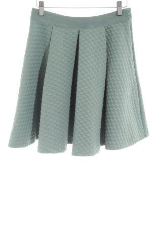 H&M Jupe évasée turquoise élégant